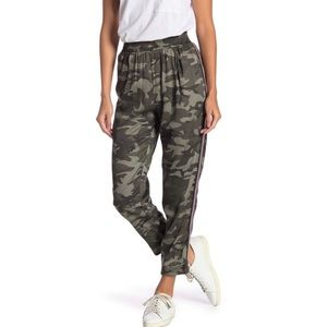 Know.One.Cares Side Stripe Camo Jogger Pants